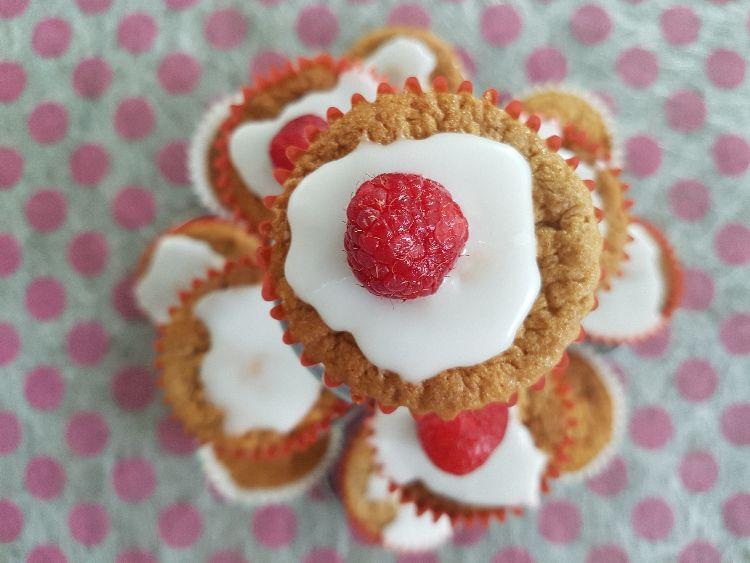 cupcakes op houder