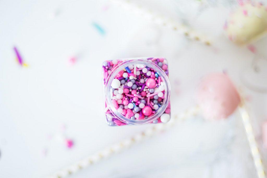 suikerdecoratie roze