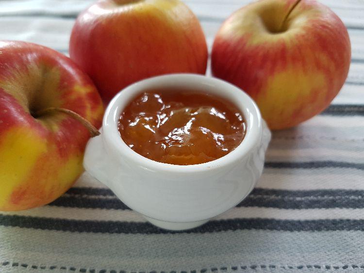 appeltaart met abrikozen confituur - benodigdheden