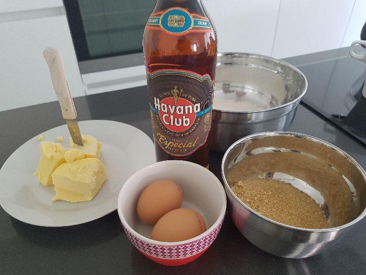 mojito cupcakes - ingrediënten