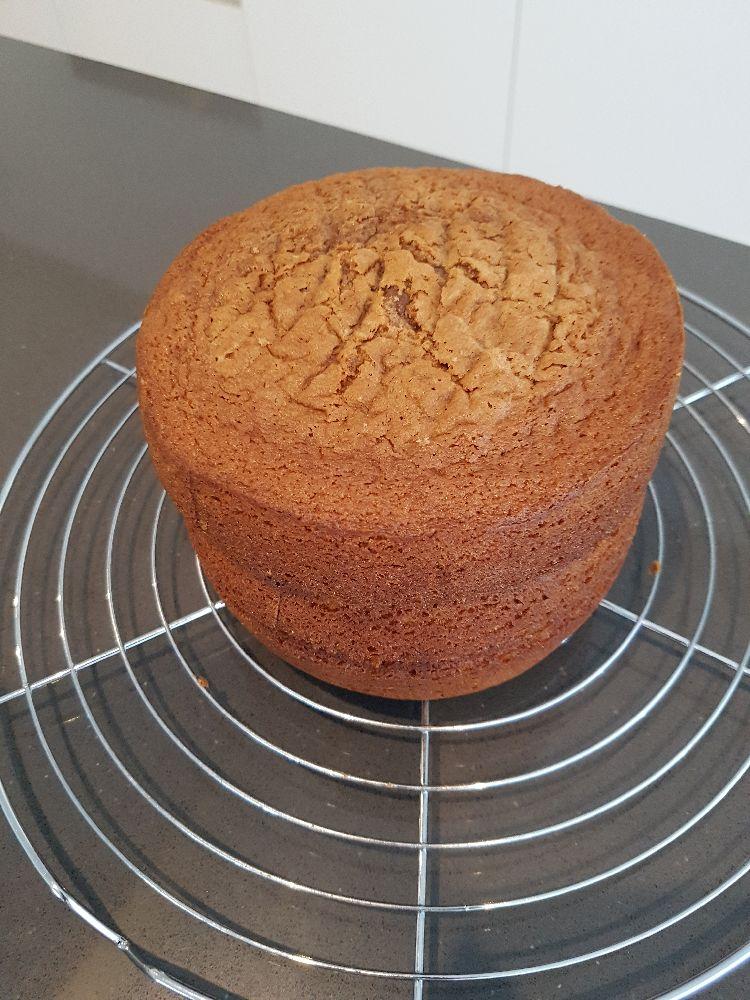taart op elkaar chocolade drip taart
