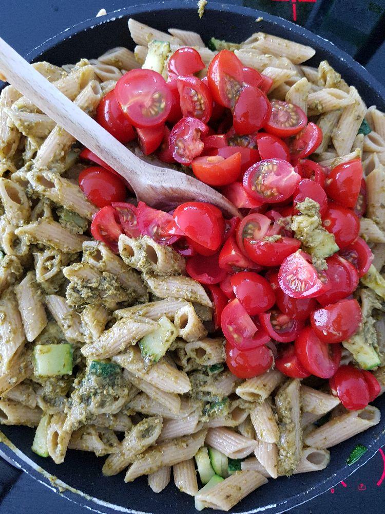 pasta en cherrytomaten