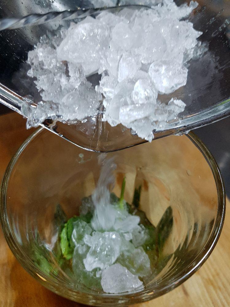 mojito ijsblokken