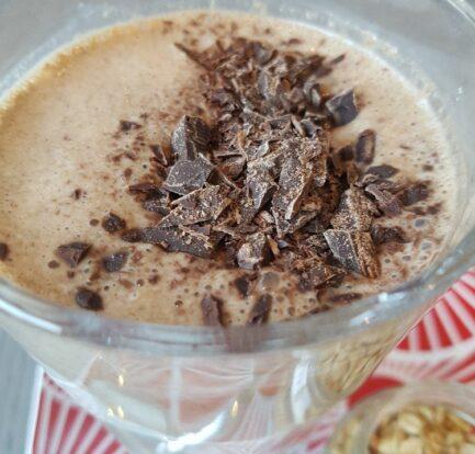 mokkashake chocolade