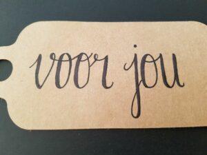 voor jou