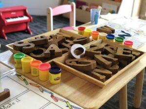 de eerste schooldag tafel