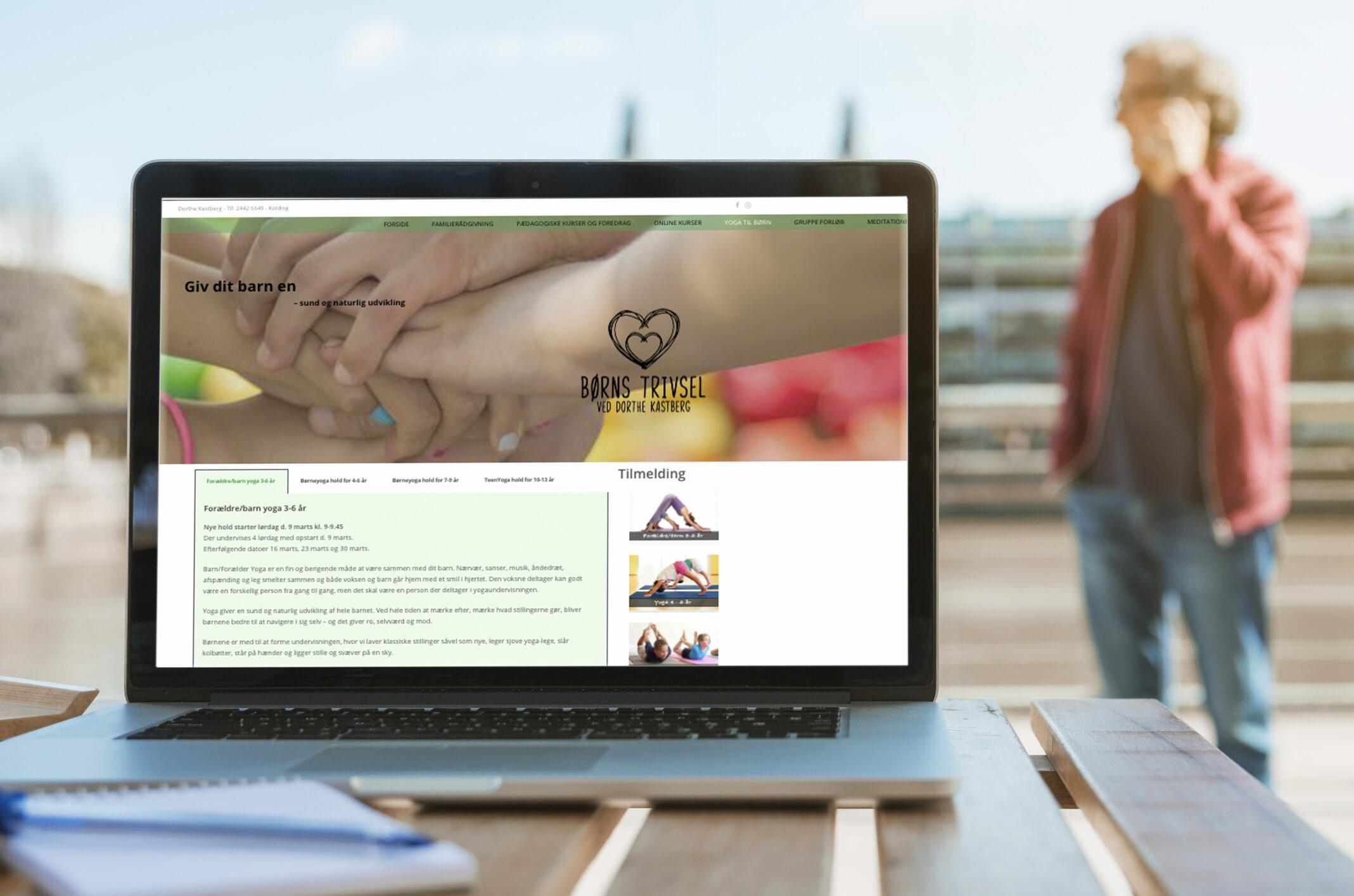 Børns trivsel gør brug af EvaGrafs websitter service