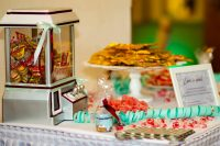 Candybar auf einer Hochzeit fotografiert von Event DJ Mark