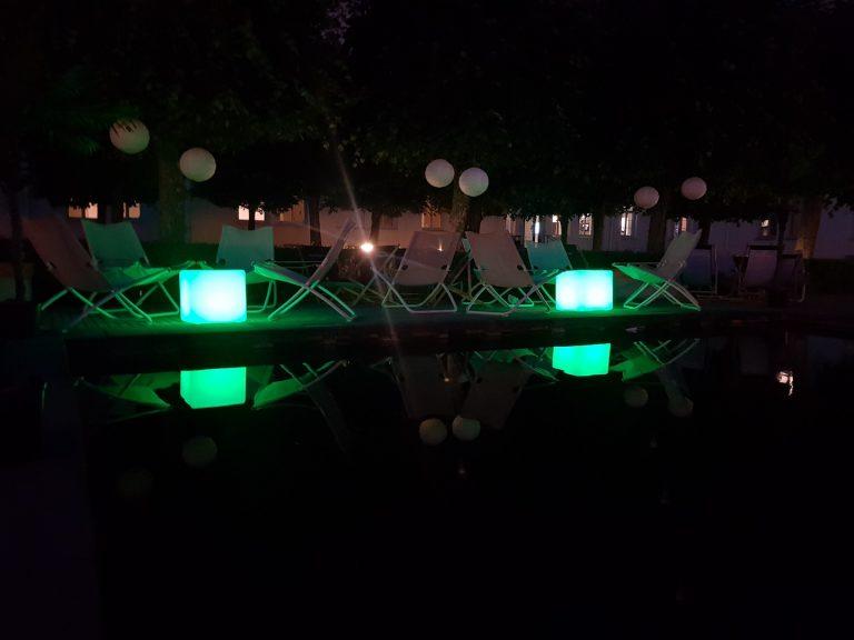 LED kuber bord