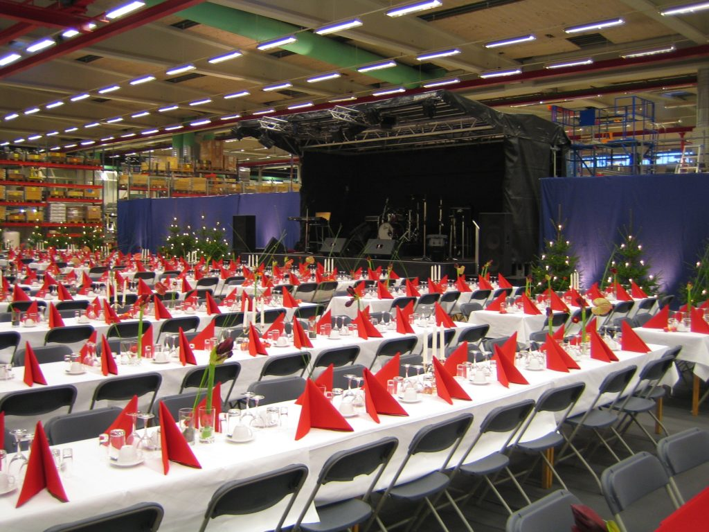 Julfest med scen - uthyrning