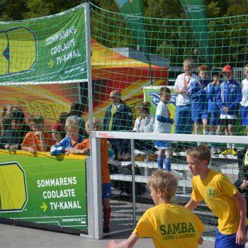 20. Göteborg Stad: Uthyrning av läktare Tip-n-Sit för fotbollsturnering.