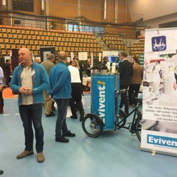 44. B2B Lund: PedalCafé/cykelreklam att hyra för marknadsföring inne och ute.