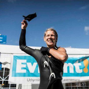 5. Malmö Triathlon: Tält uthyrda till Triathlon-tävling.