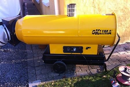 Dieselvärmare 32 KWatt