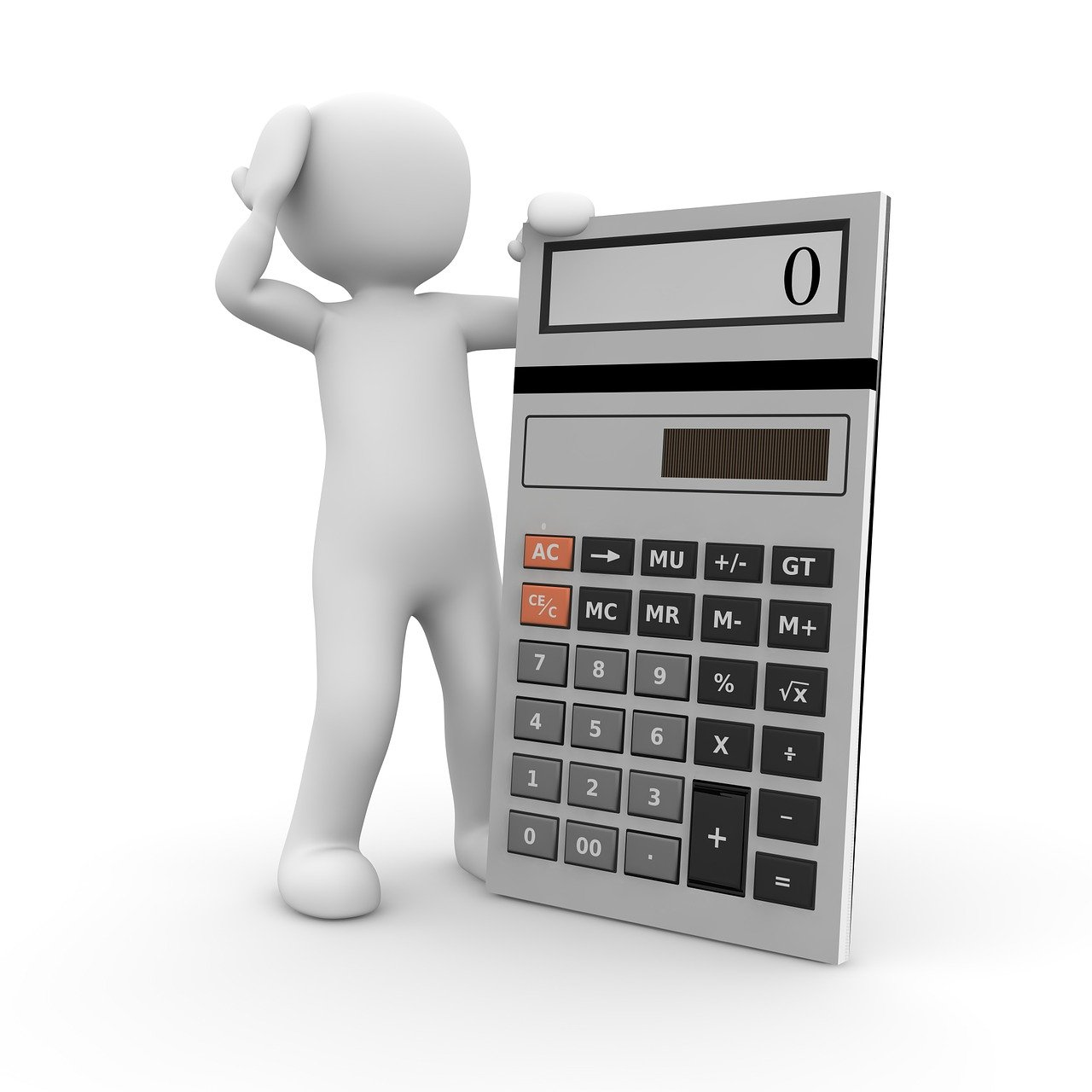 calculator, mathematics, task