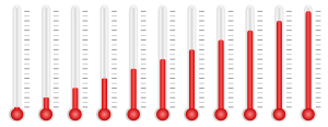 thermometer, temperature, measure
