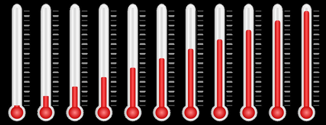 thermometer, temperature, measure