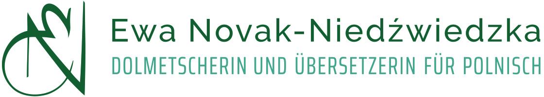 Ewa Novak-Niedźwiedzka - Dolmetscherin und Übersetzerin für Polnisch