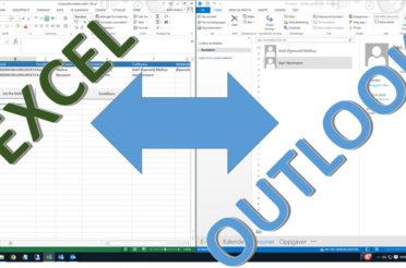 Vedlikeholde Outlook kontaktene i Excel