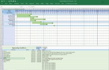 Prosjektplanlegging med Ganntdiagram