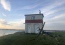 Danmarks sydligste punkt, og fyrtårnene Falster og Bogø rundt.