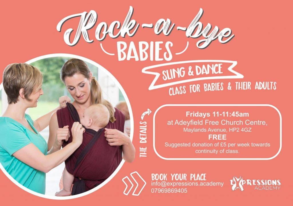 Rock-A-Bye-Babies class