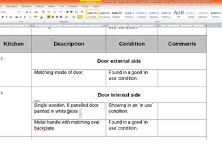 Residential Inventory Report Template