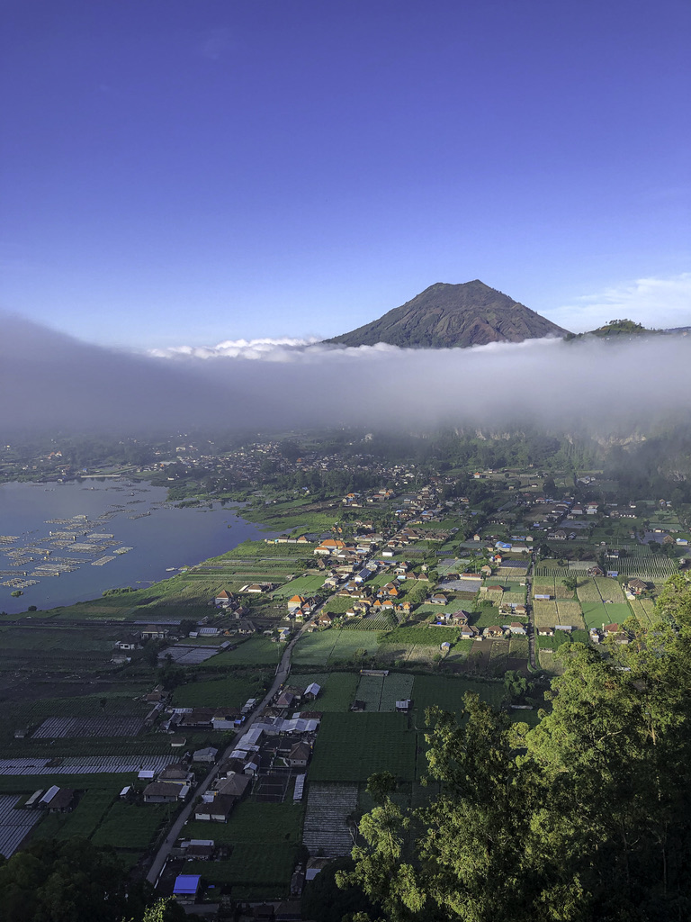Bali Batur volcano Kintamani