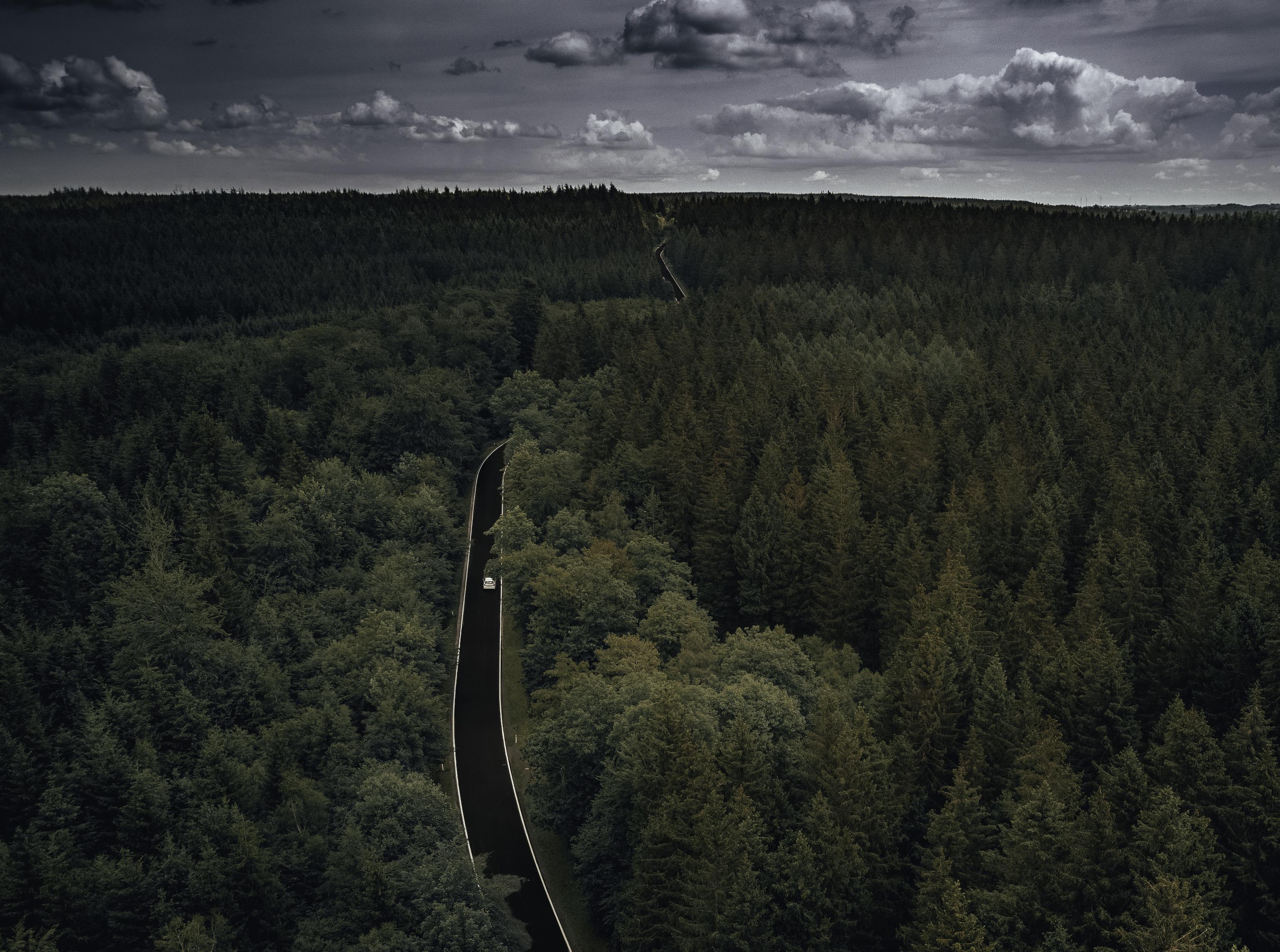 Dronefoto luchtfotografie content creatie Büllingen