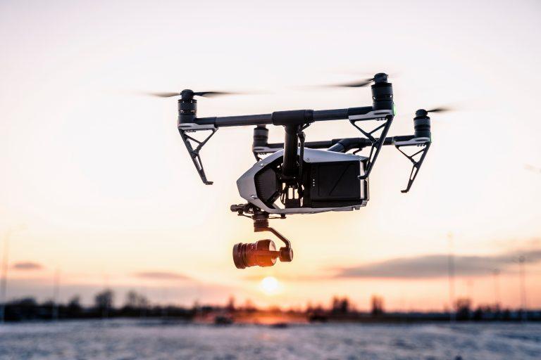 DJI Inspire 2 drone dronefoto
