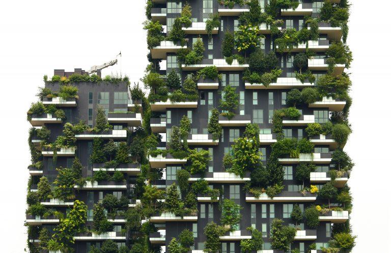 nieuwbouwproject dronefoto luchtbeeld immobiliënmakelaar immokantoor