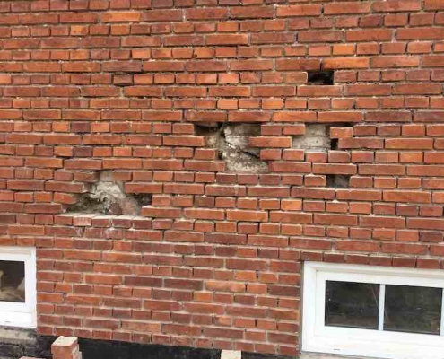 Murbier i murværk