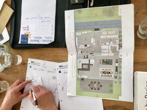 Modernes Fachwerkhaus - Ausbauhaus Planung