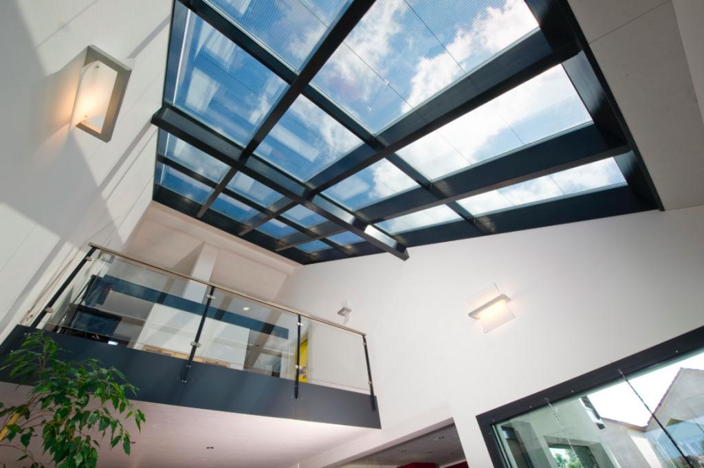 huf haus dachverglasung 1 - modernes fachwerkhaus
