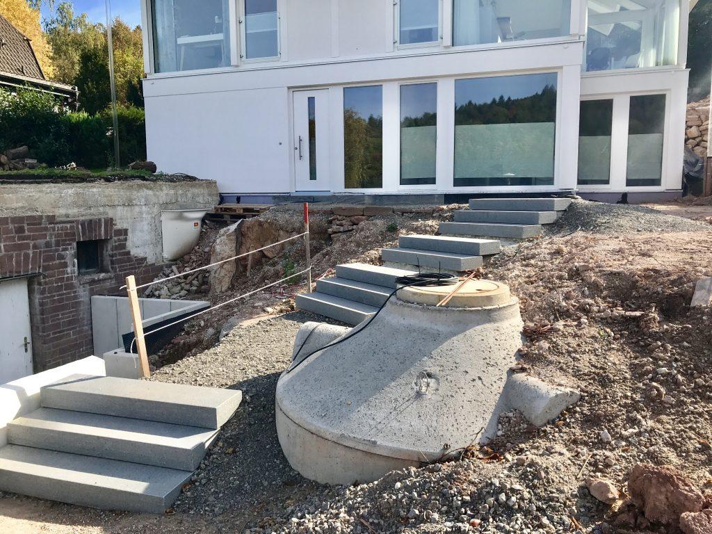 Modernes Fachwerkhaus Hausabnahme huf haus