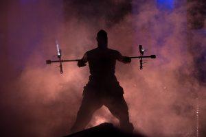 Firedancer silhouette