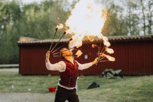 Eldshow Bröllop 2017