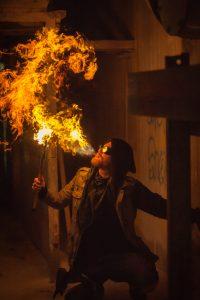 Dnd Cosplay firebender