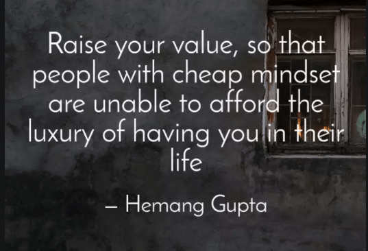 Raising My Value