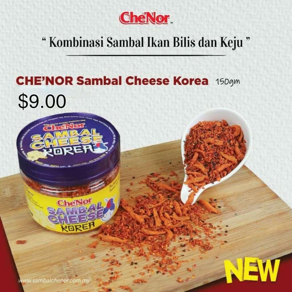 Sambal Cheese Korea Che' Nor $9.00
