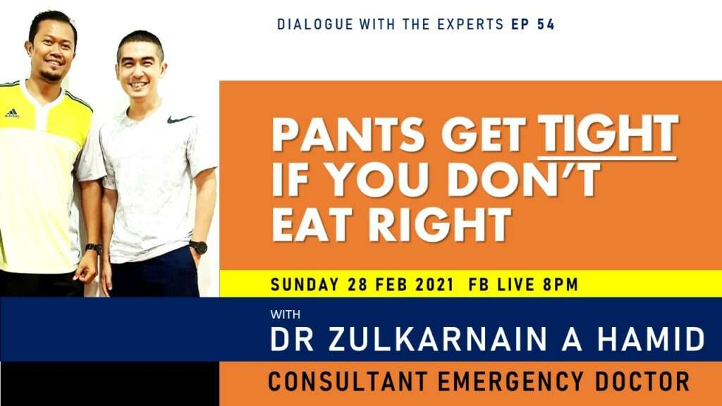 Dialogue with the Experts –  Pants Get Tight if you Don't Eat Right!