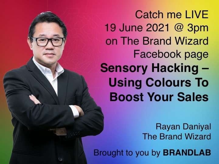 Using colours to boost your sales