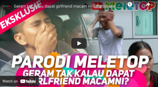 Kalau dapat girlfriend macam gini…macam ya?