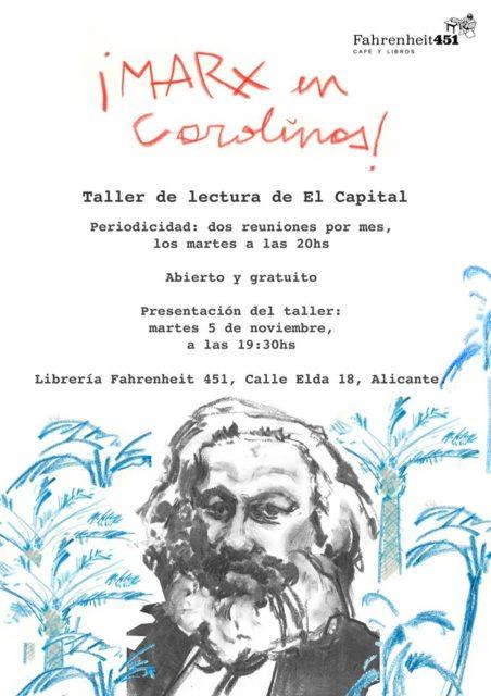 Marx en Carolines @ Fahrenheit451 Café y Libros