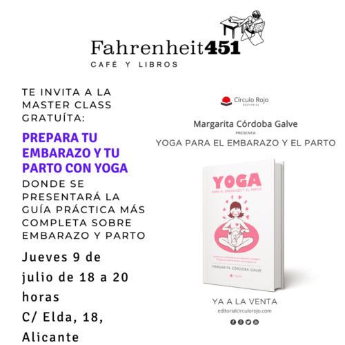 Yoga para el embarazo y el parto @ Fahrenheit451 Café y Libros