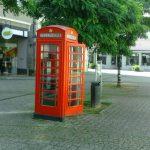 Englische Telefonzelle in Herford