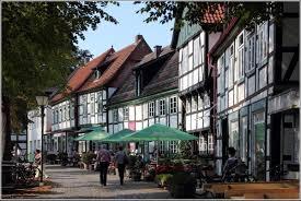 Kirchplatz von Bad Essen der historischer Ortskern