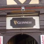 Ein köstliches Irish Bier Guinness