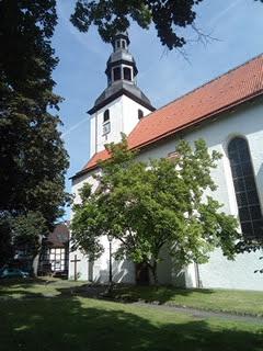 Beverungen die katholische Pfarrkirche St. Johannes Baptist