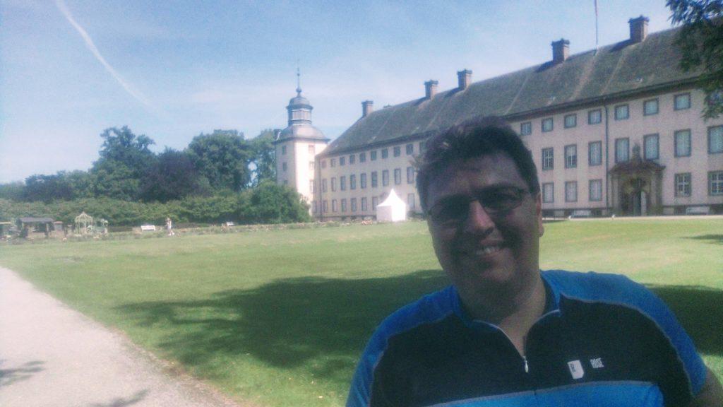 Schlosskirche von Corvey mit Selfi